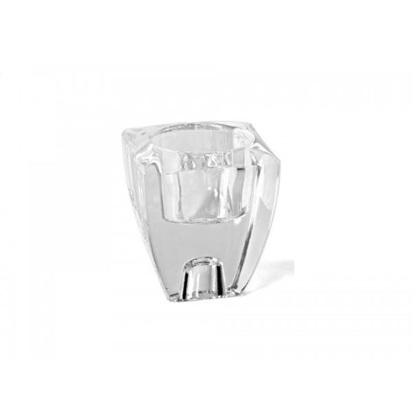 Portavelas cristal cuadrado - Portavelas cristal ...