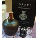 Lámpara catalítica Drake cristal Marrón Chocolate.