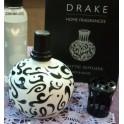 Lámpara catalítica Drake cerámica Blanco-Negro.