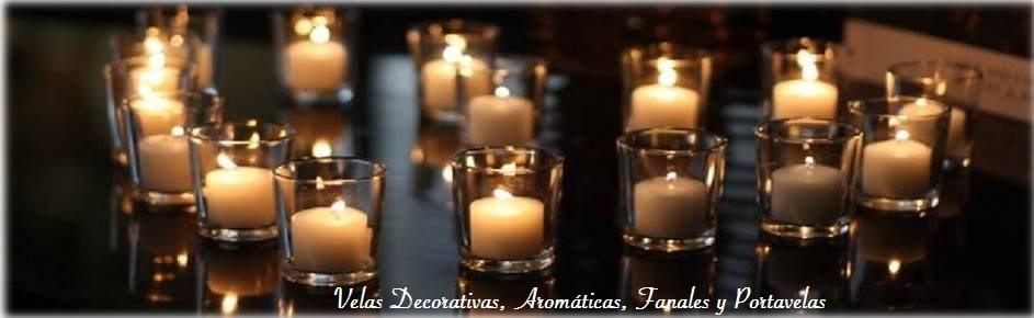 Velas Decorativas y Aromáticas