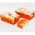 Jabón de naranja y nuez