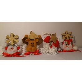 Muñecos decorativos para colgar