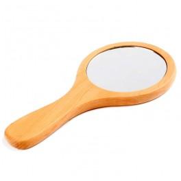 Espejo redondo con mango