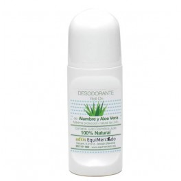 Desodorante Roll-On de Aloe Vera y Alumbre