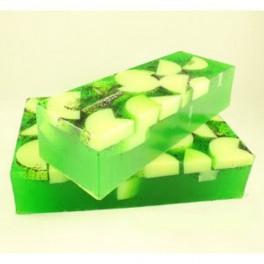 Jabón de Glicerina Manzana Verde