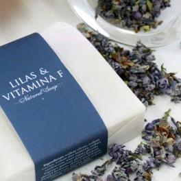 Jabón de Lilas y vitamina F