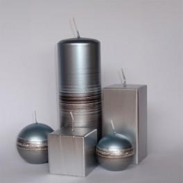 Vela tubo Metalizado Tonnet Joya