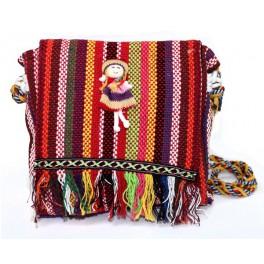 Bolso Tibetano Solapa con Muñeca