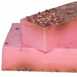Jabón de rosas y rosa mosqueta