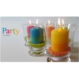 Velas Party Cilindro