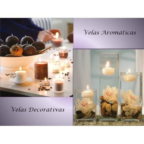 Velas Decorativas y Aromáticas - Portavelas y Candelabros.